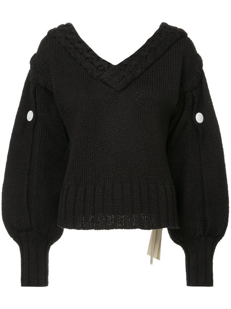 Hellessy jumper women cotton black sweater