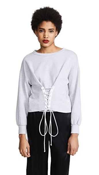 sweatshirt grey heather grey sweater