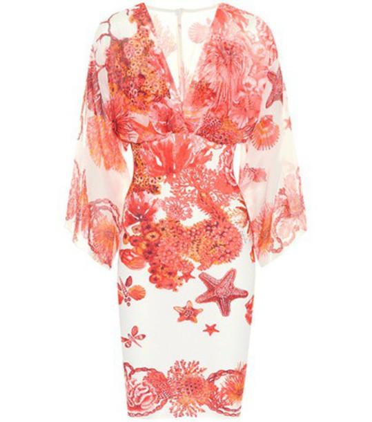 Roberto Cavalli dress printed dress red