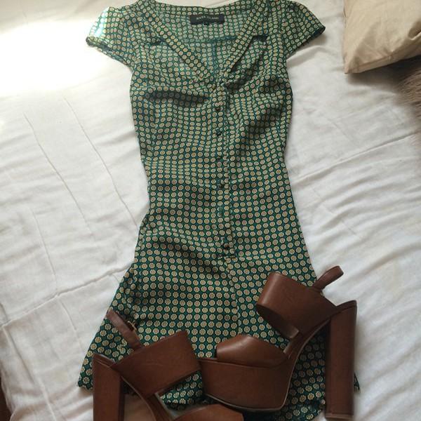 shoes heels brown wedges tan beige wooden wedges brown high heels brown platform leather block heels blockheels dress