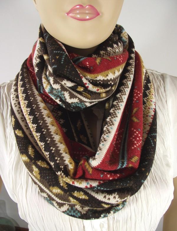 scarf infinity scarf sweater scarf warm scarf fall scarf infinity scarf fashion women accessorie lilia vanini scarf accessories