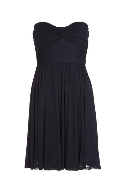 dress dark blue dress