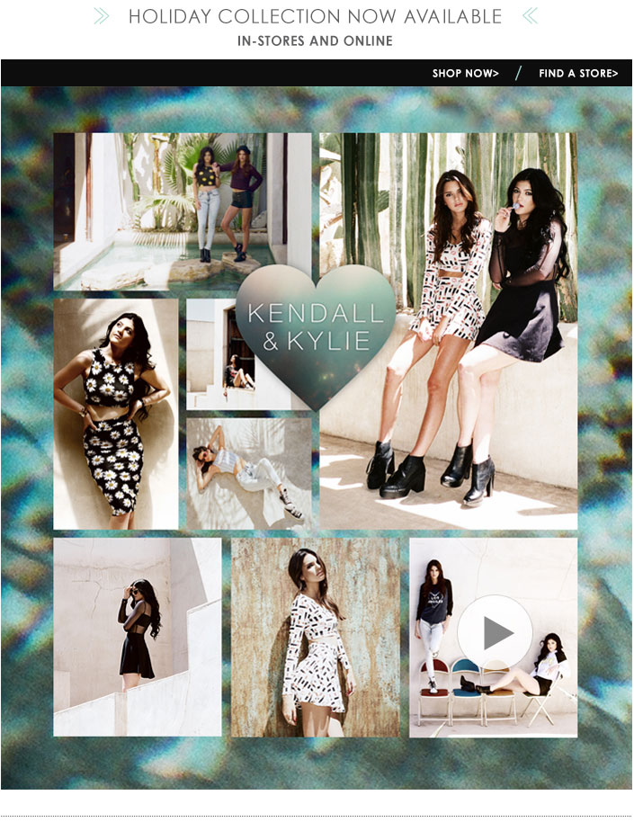 Kendall and Kylie Exclusive Clothing Collection at PacSun.com