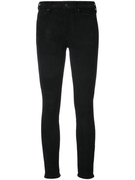 Mother jeans skinny jeans high women spandex black