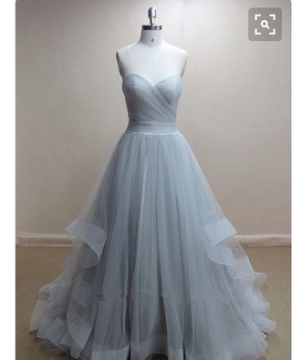 dress chiffon blue prom tool