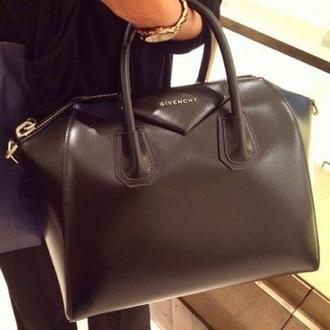 bag black purse givenchy bag given chat givenchy
