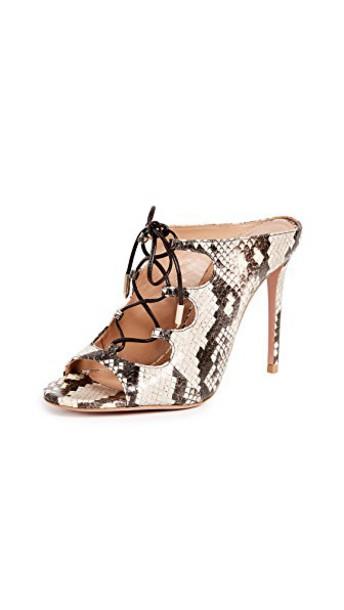 Aquazzura mules shoes