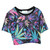 Floralz Print Crop Top | Outfit Made