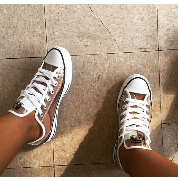 Womens Clear Converse Shoes