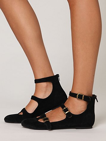 Strap flat at free people clothing boutique