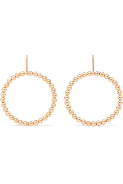 Saskia Diez earrings gold jewels