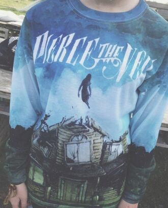sweater pierce the veil comfy colorful pierce the veil band halp perf perfection cute pls shirt jacket band t-shirt band merch bands hoodie hoodie cd portugal blue