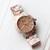 Floral Bracelet Watch
