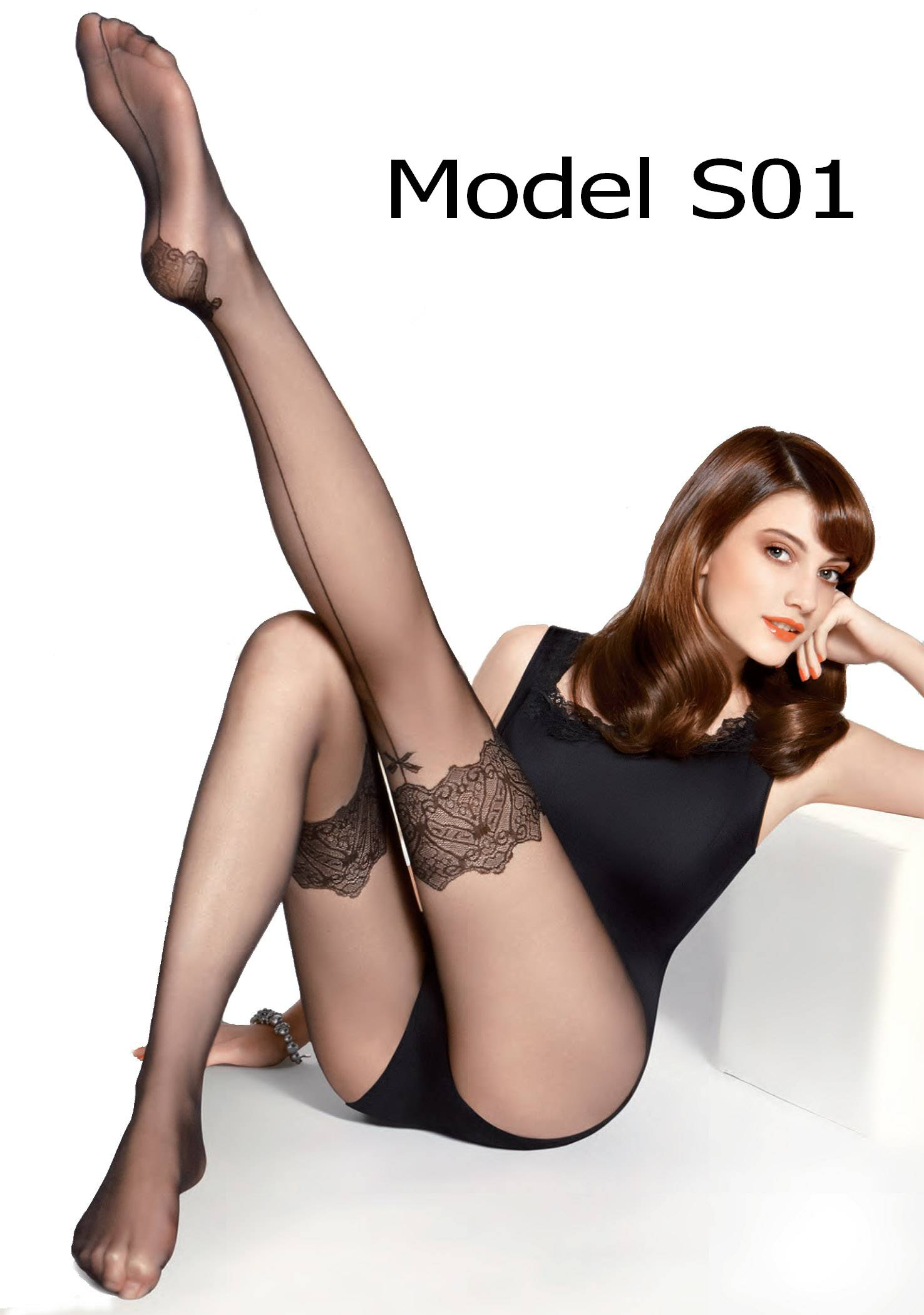 Soft Faux Garter Mock Suspender Effect Pantyhose Tights Gatta Europe Size s M L | eBay