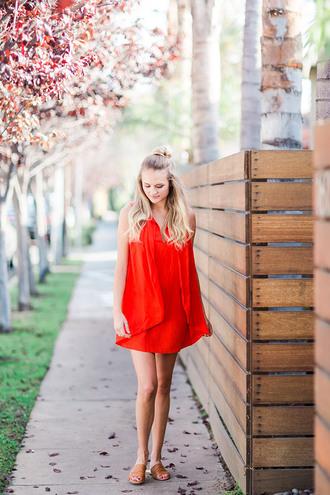 lauren conrad blogger dress jewels bag red dress summer dress