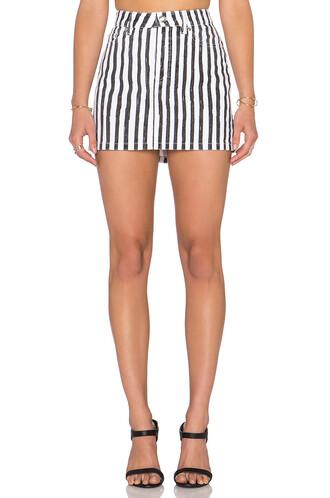 skirt mini skirt mini white black