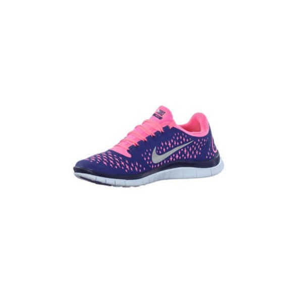 newest collection 99e3e c0e19 Nike FREE 3.0 V4 Womens Running Shoes Royal Blue/Pink UK Christmas Deals