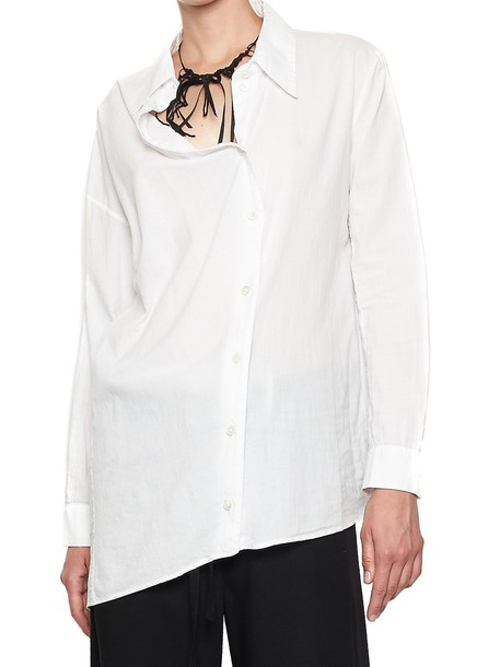ANN DEMEULEMEESTER shirt white top