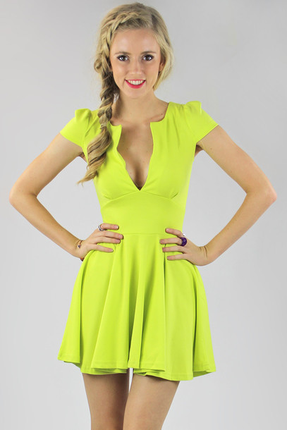 Bright Colored Cocktail Dresses