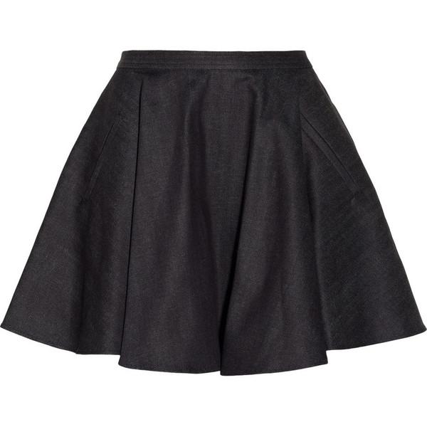 Chalayan Denim circle skirt - Polyvore