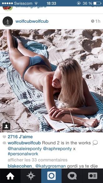 swimwear thong thong bikini grey swimwear grey bikini bottoms bikini