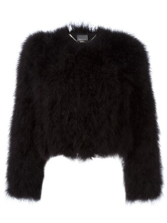 jacket oversized black