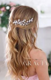 hair accessory,wedding hair comb,prom hairpiece,bridal hair comb,TopGracia.wedding,wedding accessories,wedding hairstyles,wedding,bridal hair combs
