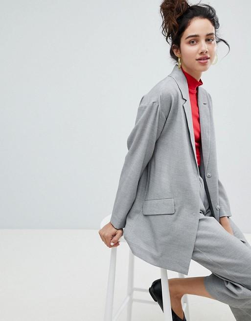 Monki Pocket Front Wrap Lightweight Jacket