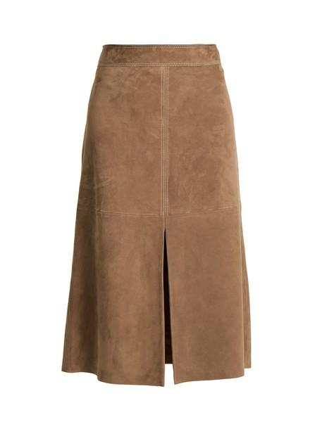 WEEKEND MAX MARA skirt brown