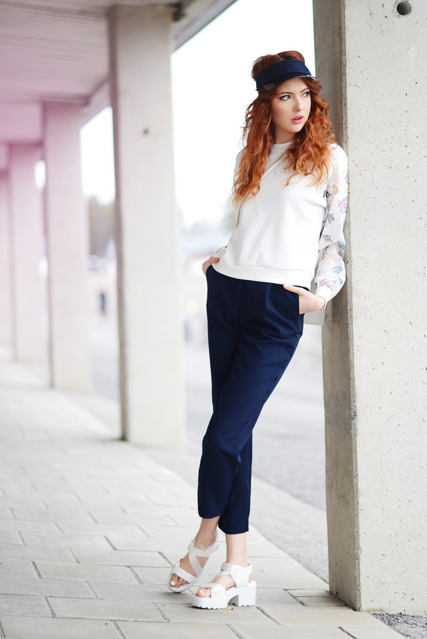 ebba zingmark shoes bag t-shirt pants hat