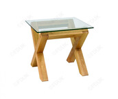 home accessory,oak lamp table,glass lamp table,side table,home furniture