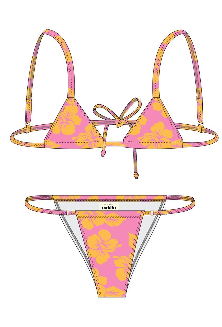 Hound Dog Bikini Top - Hawaii