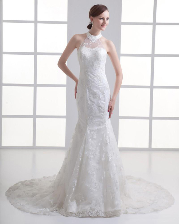 lace dress wedding dress a-line wedding dresses