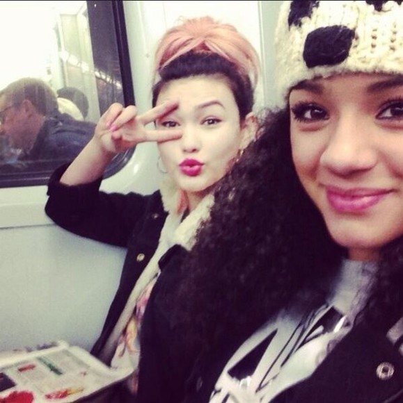 girls hat asami shereen neon jungle bear underground cute london