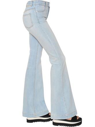 jeans denim cotton light blue light blue