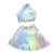 Holographic Twin Set – #NYLONshop