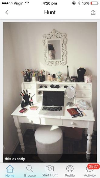 jewels desk home accessory home decor girly romantic