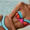 Pily q swimwear neo block bandeau   elite fashion swimwear