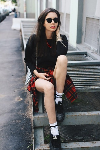 oh my blog blogger dress shirt jewels socks sunglasses shoes