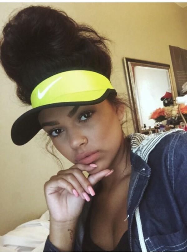 Yellow Nike Headband