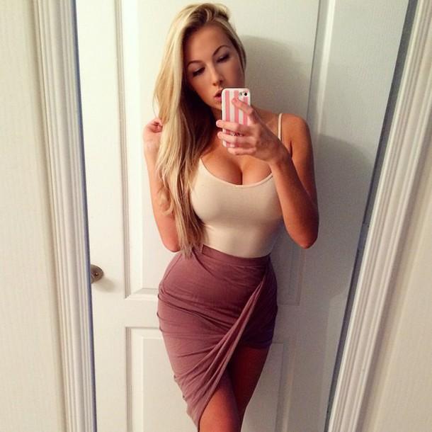 Shirt cute girl tight
