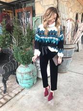 twopeasinablog,blogger,sweater,jeans,shoes,leggings