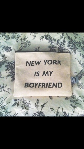new york white bag small bag