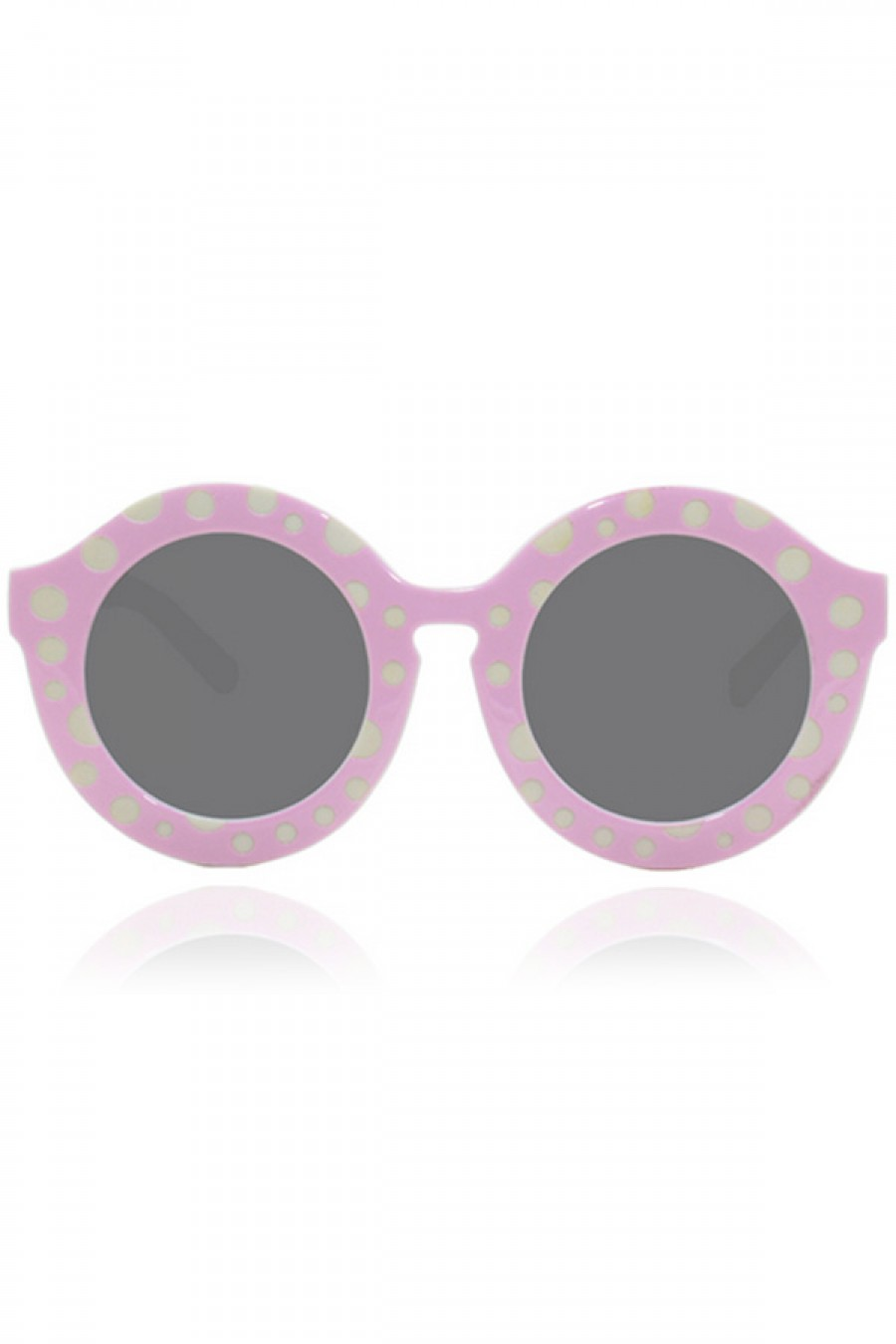 Penelopy sunglasses in polka dot pink