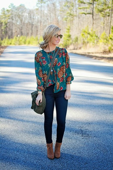 chiffon top fall outfits