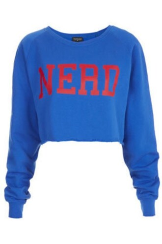 sweater nerd blue shirt cute sweaters funny sweater trendy hot jacket blue sweatshirt