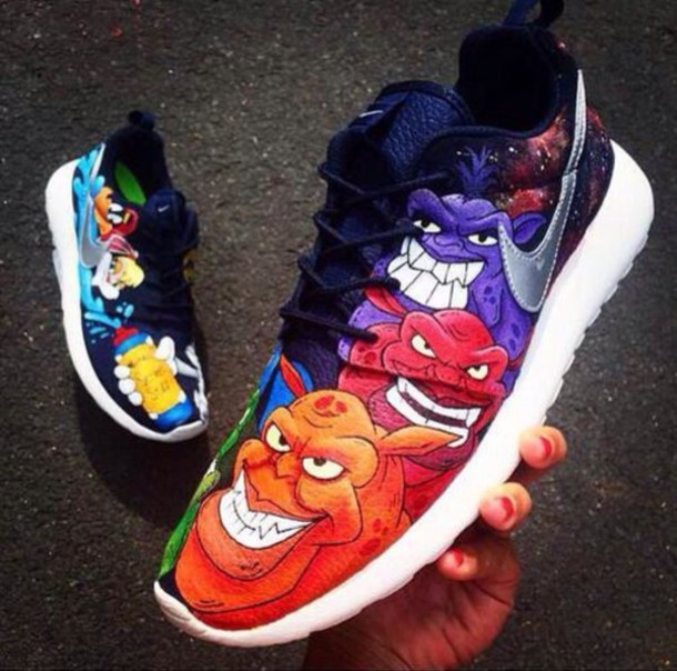 Looney Tunes Jordan Shoes