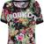 Camiseta FiveBlu Power Flower Preta - Compre Agora | Dafiti