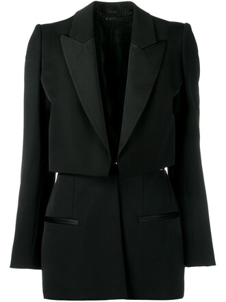 blazer layered jacket