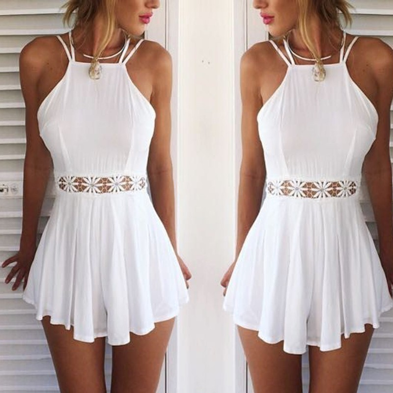 Sexy sling playsuit